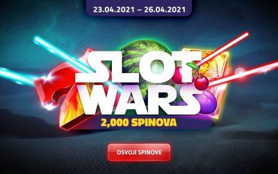 Slot Wars 2000 spinova