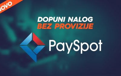 Uplata depozita na Payspot lokacijama