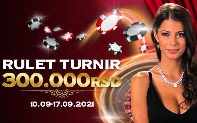 Rulet turnir 300.000